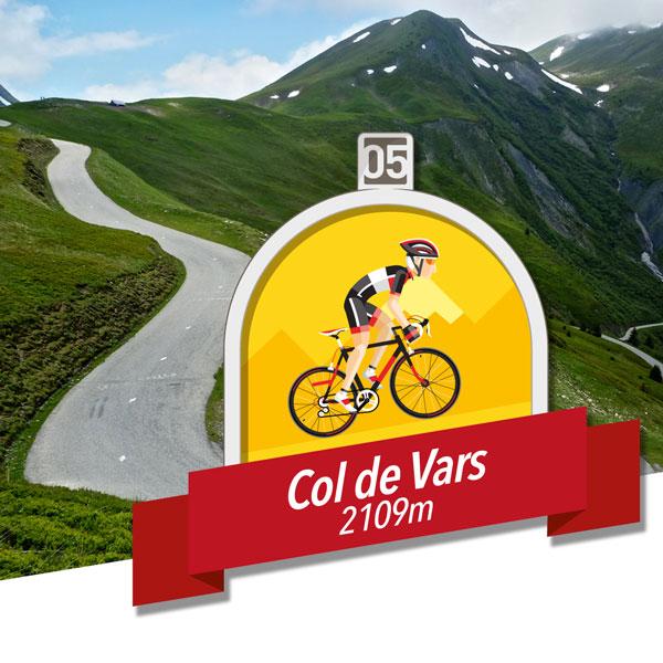 7. Col de Vars
