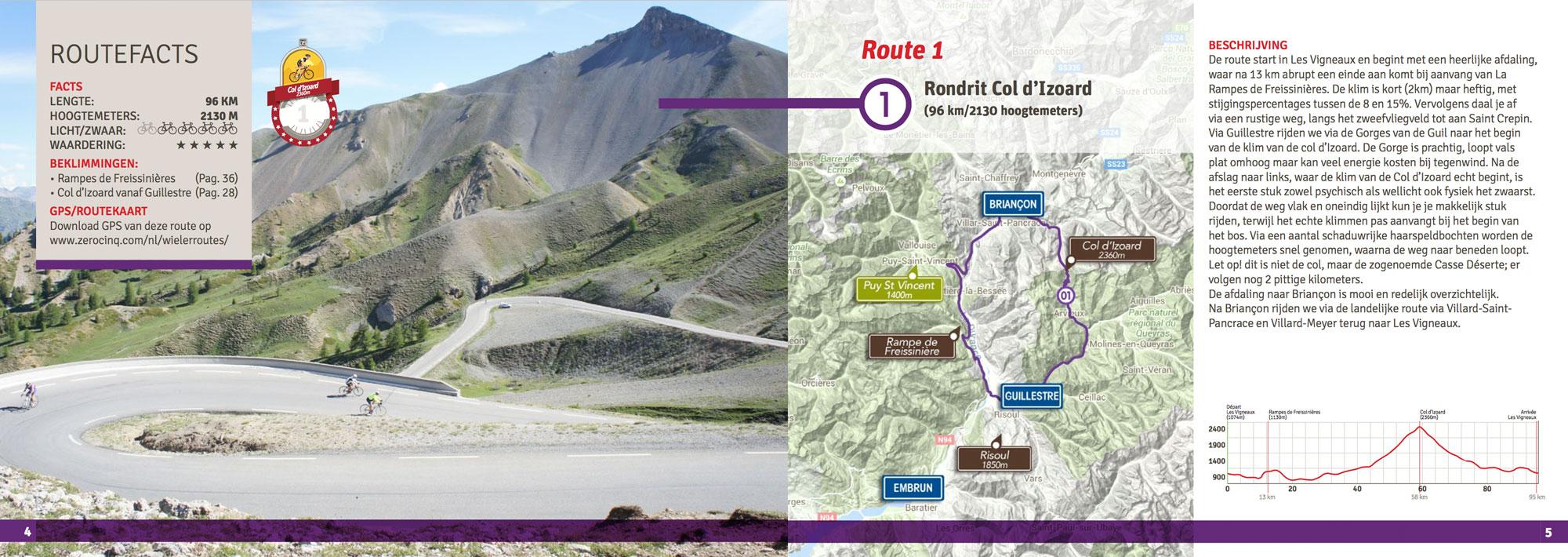 Route 1: Boucle d'Izoard